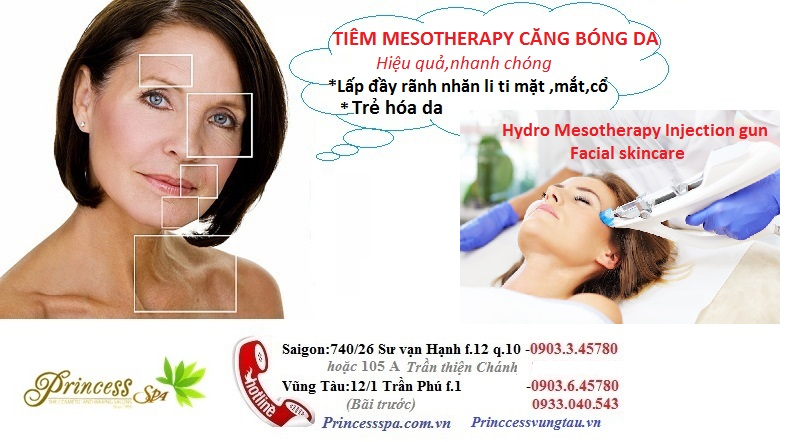 Hydro Mesotherapy injection gun facial care