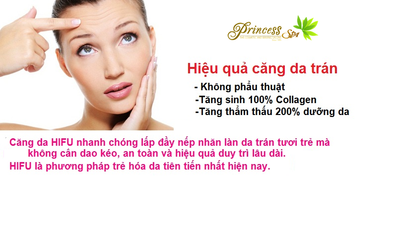 Hifu treatment for forehead wrinkles
