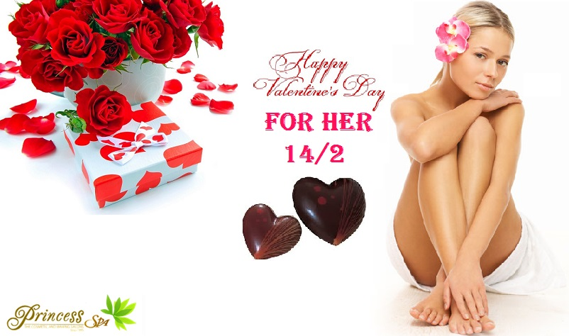 Valentine for her